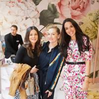 Binkie Mooreheaf, Emma O'Bryne and Elizabeth Sieff