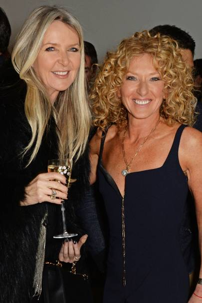 Amanda Wakeley and Kelly Hoppen