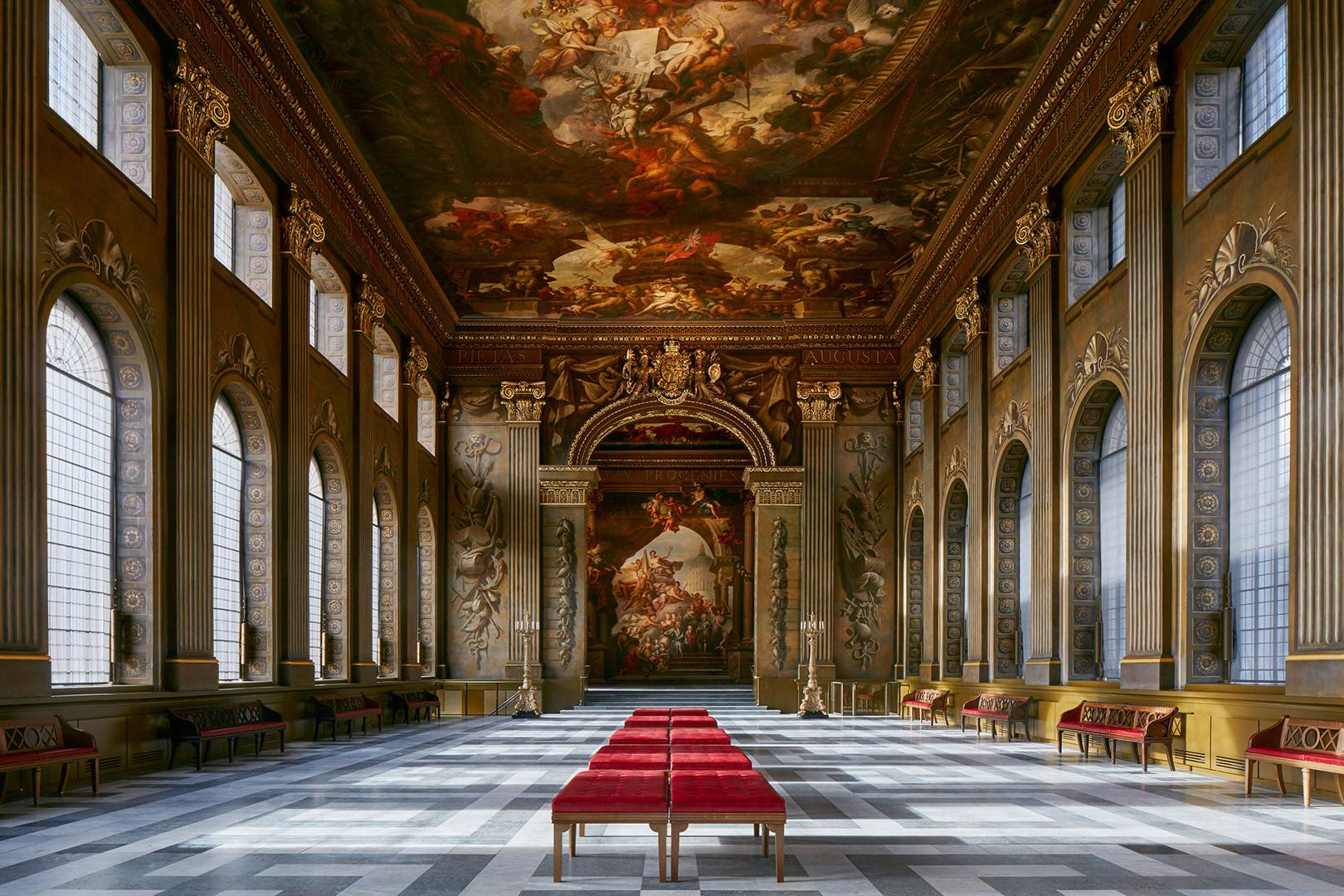 In the Frame: The Painted Hall of the Old Royal Naval College in Greenwich