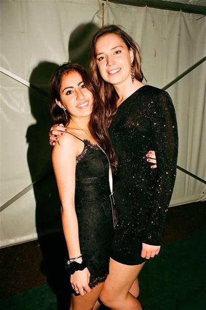 Sheena Anadkat and Amelie Dieusart