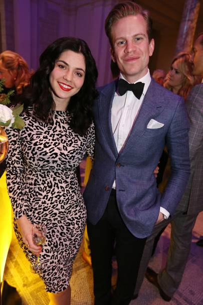 Marina Diamandis and Will Bowerman
