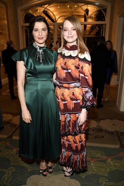Rachel Weisz and Emma Stone