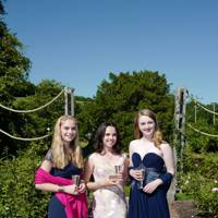 Polly Lightbody, Sophie Johnstone and Emilia Barclay