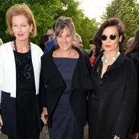 Julia Peyton-Jones, Tracey Emin and Bianca Jagger