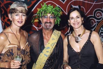 Mrs Eddie Jordan, Eddie Jordan and Baroness Micho von Beschwitz