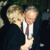 Mrs Bos de Ferranti and Sir Mark Weinberg