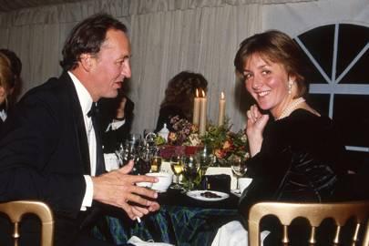 The Duke of Roxburghe and Mrs Thomas Loyd