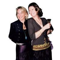 Mrs Nigel Hanbury and Mrs Alverne Bolitho