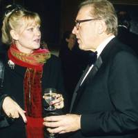 Mrs Jack Higgins and Sir David Frost