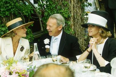 Mrs Thomas Kepner, Lord Chetwode and Mrs Richard Burton