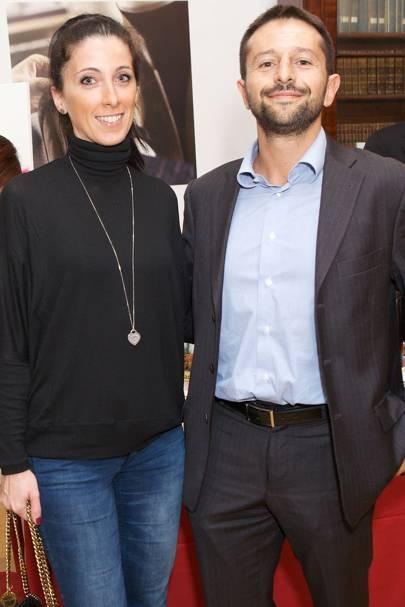 Federica Capato and Francesco Rizzo