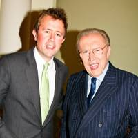 Miles Frost and Sir David Frost