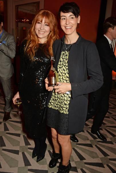 Charlotte Tilbury and Sarah Wood