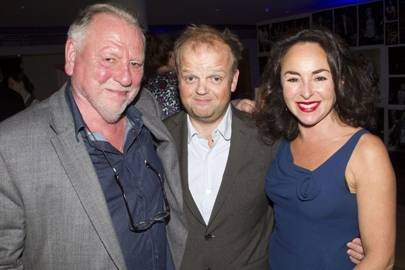 Kenneth Cranham, Toby Jones and Samantha Spiro