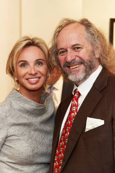 Princess Corinna zu Sayn Wittgenstein and Patrick Mavros
