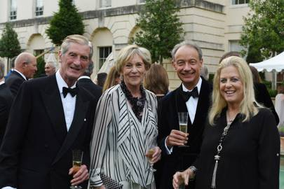 Lord Tollemache, Lady Tollemache, Martin Taylor and Lady Cranworth