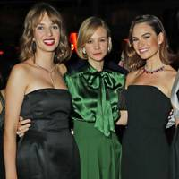Maya Hawke, Carey Mulligan and Lily James