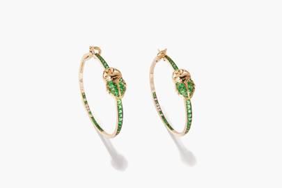 Aurélie Bidermann hoop earrings