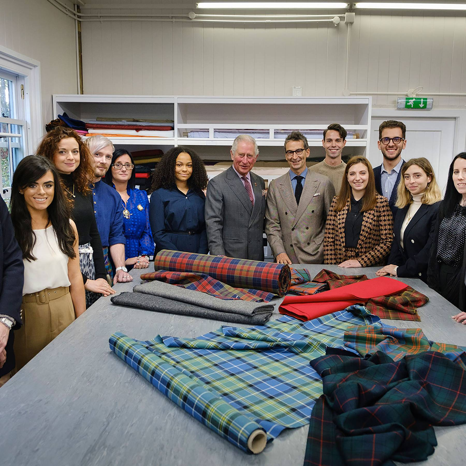 Prince Charles launches first fashion collection The Modern Artisan