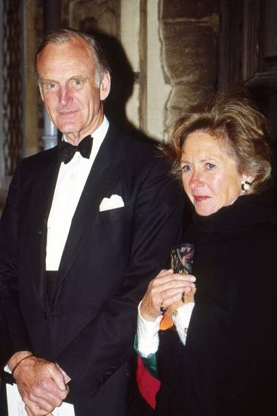 Sir Anthony Acland and Lady Acland