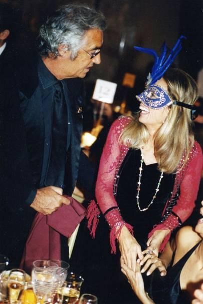 Flavio Briatore and Duchesse Sylvia Serra de Cassano