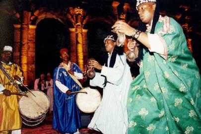 Gnaoua dancers
