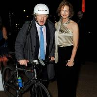 Boris Johnson and Julia Peyton-Jones