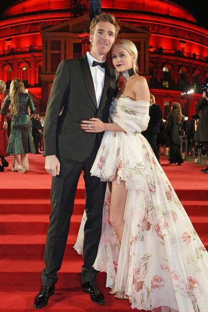 James Cook and Poppy Delevingne