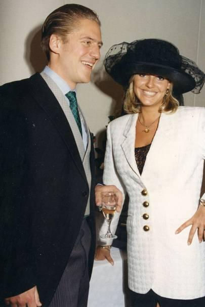 Prince Louis de Rohan and Victoria Gacley