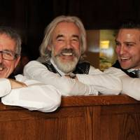 Griff Rhys Jones, Roger Lloyd-Pack and Stefan Booth
