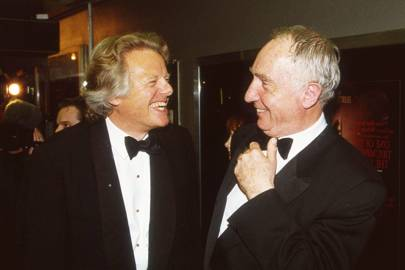 Michael Grade and Nigel Hawthorne