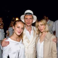 Olympia Campbell, Oli Wennink and Edie Campbell