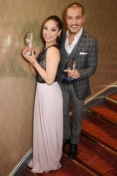 Eva Noblezada and Jon Jon Briones