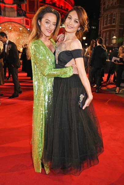 Alice Temperley and Olga Kurylenko