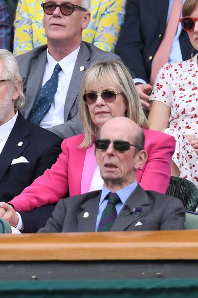 Twiggy and the Duke of Kent