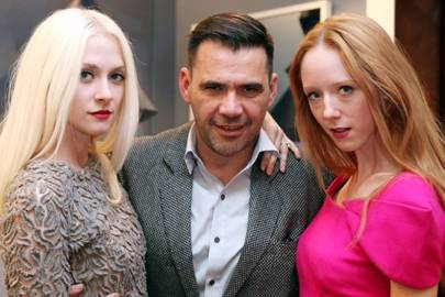 Portia Freeman, Roland Mouret and Morwenna Lytton Cobbold