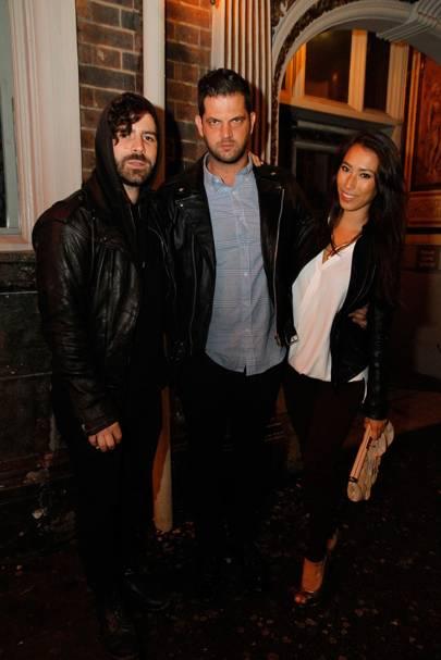 Yannis Philippakis, Nabil Elderkin and Yasmin Tanwidjaja-Pajares