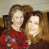 Penelope de Laszlo and Harriet Walter