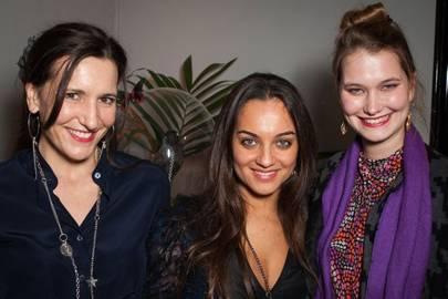 Camilla Barker, Fabiola De Freitas and Ilona Guest