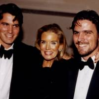 Salvatore Ferragamo, Mrs Garth Bearman and James Ferragamo