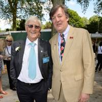 Sir Michael Parkinson and Stephen Fry