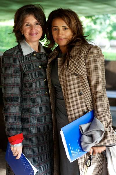 Katherine Priestley and Michelle de Souza