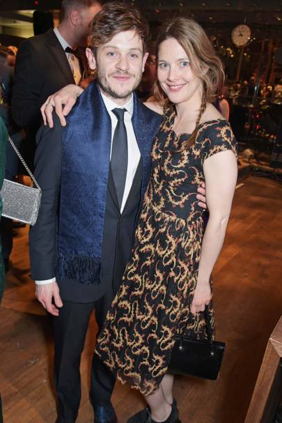 Iwan Rheon and Zoe Grisdale
