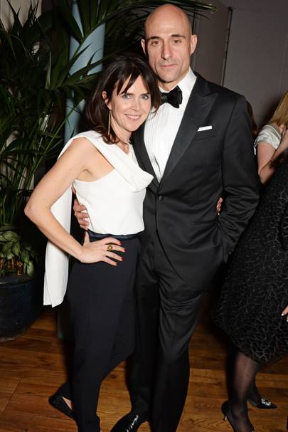 Liza Marshall and Mark Strong