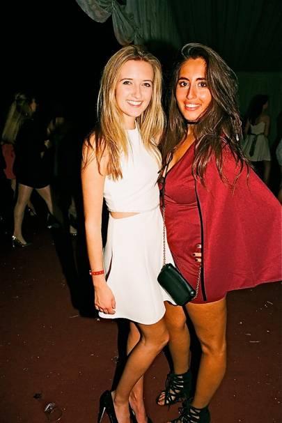 Jenni Philp and Yasmine Kyriakos