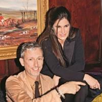 Patrick Cox and Elizabeth Saltzman-Walker