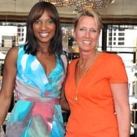 Denise Lewis and Annoushka Ducas