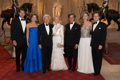 Paul Arrouet, Dylan Lauren, Ralph Lauren, Ricky Lauren, Andrew Lauren, Lauren Bush and David Lauren