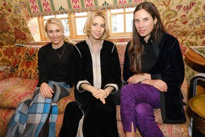 Tatum Getty, Sabine Getty and Tatiana Casiraghi