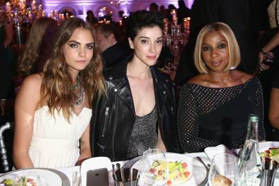 Cara Delevingne, Annie Clark and Mary J. Blige